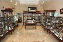 Queen Anne Display Cases