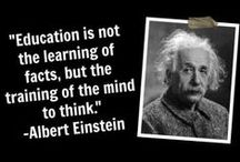 About learning and teaching