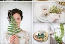 Inspiration Boards / Themed Style Guides to set wedding design in motion!