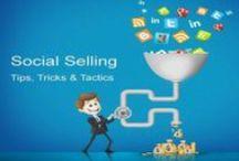 Social Selling / Vi utbildar och certifierar säljteam i social selling. Öka din försäljning och bli bättre på sälj.