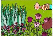 lente / ideetjes voor in de klas met het thema lente