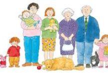 thema: familie / kleuterplein thema familie