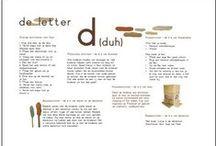 letters / allerlei manier leuke ideetjes om letters aan te bieden