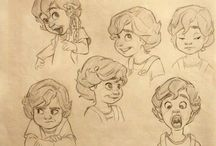 Character design / Drawing and character design for animation