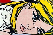POP ART / Roy Lichtenstein etc…