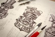 Awesome Drawings / Awesome Drawings - Characters, Icons, Illustrations, Logo