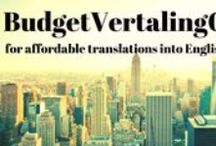 BudgetVertalingOnline / Videos and photos and random stuff, all about affordable translation agency BudgetVertalingOnline