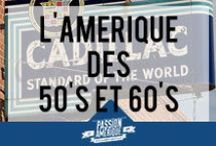 L'Amérique des années 50 et 60 / Sélection de photos qui illustrent bien ce qu'était l'Amérique dans les années 40, 50 et 60... La vraie période du rêve Américain avec ses vieilles voitures (Cadillac, Chevrolet, Buick...), ses Diners et son Rock n' Roll !