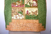 Quillow ( quilts + pillow) / Quillow ( quilts + pillow) ou seja almofada mais manta ( geralmente de patch e quilatada) mas eu fiz com soft