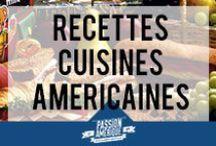 Recettes de cuisine américaines / Une sélection des meilleures recettes de cuisine 100% USA. Les Etats-Unis ne sont pas seulement le pays du fast-food, on trouve aussi des recettes traditionnelles succulentes et recherchées. Bon appétit !