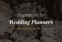 Inspiration for Wedding Planners / Inspiration to keep wedding planners' creative juices flowing!