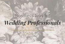 Business Inspiration for Creative Entrepreneurs / Business inspiration and advice for creative entrepreneurs in the wedding industry.