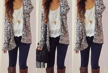 Cool Outfits/Hairstyles