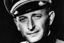 Adolf Eichmann / Nazi Almanyası'nın Yahudiler konusundaki politikasının belirlenmesinde önemli katkıları olan ve bu konudaki Nazi uygulamalarında etkin rol oynayan bir Alman subaydır.
