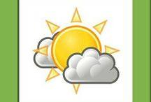 thema: het weer / Kleuterplein thema Het weer