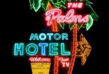 Motels américains / Une sélection des plus beaux motels américains, sur la Route 66 ou ailleurs ! Juste incroyable !