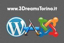 3Dreams_Creazione Siti web / Realizzazioni web dello studio 3Dreams di Torino. Siti web realizzati in Joomla, CMS open source.
