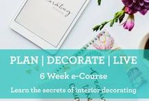 The Decorating School / We're here to help empower our students with practical skills they can put into practice immediately to create a home they are proud to live in. We are passionate about sharing knowledge, creating helpful resources and crafting gorgeous spaces with you.