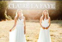 Claire La Faye / Inspired by a need for the rare and unexpected, Portland designer Claire La Faye offers a style for women that is both wearable and whimsical. Old Hollywood inspiration comes through in her elegant design, and the ethereal, almost haunting beauty of her imagery perfectly captures the mood of the Claire La Faye label. These locally produced, made-to-order gowns are the perfect choice for a dreamy bohemian bride.