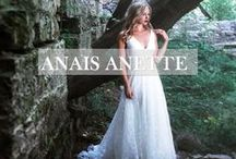 Anais Anette / Based out of Toronto, sisters Magdalena and Karolina have a design ingenuity in their DNA that has been refined by four generations of dress-makers and seamstresses. Anais Anette gowns are alive with hand- stitched detailing, architectural precision and old world antiquity. A wearable heirloom draped with the finest quality fabrics, appreciated for impeccable fit and symmetry. Every detail is placed with care, driven by an artist's uncompromising pursuit of flawlessness.