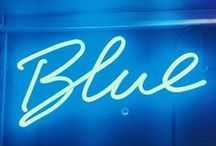 """: Blue : / """"Whenever I feel blue, I start breathing again."""" - L. Frank Baum"""