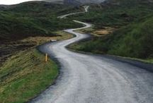 ": Roads ♥ Routes : / ""If you don't know where you are going, any road will get you there."" -  Lewis Carroll"