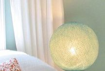#Cotton Table Lamp