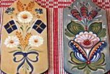 Needlework and Handicraft / Samples from some of the traditional Scandinavian handicraft resources and classes we offer at Ingebretsen's.  Please visit our website at http://www.ingebretsens.com/classes or call us at (612) 729-9333 for information about current class offerings.