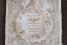 Vintage/ Shabby chic cards