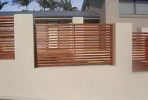 Style: Fences + Retaining Walls