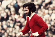 "George Best (NI) / ""Pele good, Maradona better, George Best"""
