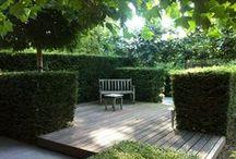 Porch and patio / Uteplatser