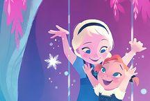 Anna and Elsa ❆