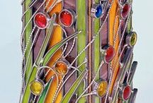 Stained glass/ Tiffany / different glassworks