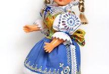 My folclore costume dolls - Moje krojované bábiky / My folclore costume dolls - Moje krojované bábiky