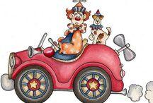 Circus & Pierrots