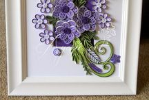 So beautiful quilling theme