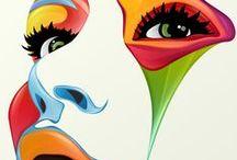 Aniza Gizela´s Technicolor Makeup / Aniza Gizela´s Technicolor Makeup