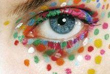Aniza Gizela´s pixelated-makeup art / Aniza Gizela´s pixelated-makeup art