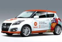 Signage / Branding your business or company car. The possibilities are endless!!