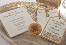 White and Gold Weddings / White and gold wedding inspiration, a beautiful, crisp combination of elegance and style. We love the rustic wedding look and eco friendly wedding stationery. Take a look at our whole collection for ideas and wedding inspiration.