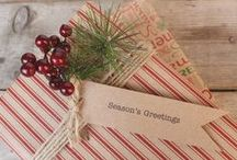 Kraft Wrapping / A beautiful collection of wrapping projects using good old brown  paper. We love the rustic wedding look and eco friendly wedding stationery. Take a look at our whole collection for ideas and wedding inspiration.