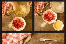 Nos tutoriels cuisine / Une sélection d'astuces culinaires et de recettes faciles à réaliser.