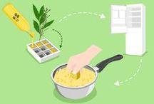 Nos astuces en cuisine / Retrouvez nos idées les plus astucieuses pour faciliter le quotidien en cuisine.