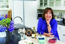 Ina Garten / Ina Garten, known as the Barefoot Contessa, originally worked for the White House, focusing on nuclear energy policy. In 1978, her love of cooking lead her to become the owner of Barefoot Contessa in the Hamptons on Long Island, which she sold in 1996.. After taking over this specialty food and catering shop, she went on to become the host of the Food Network's Barefoot Contessa cooking show.  She has written many cookbooks, written magazine columns, and still hosts her television show. / by Fran Silver
