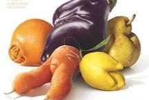 """Nos Fruits et Légumes Moches / Discriminés à cause de leur physique ingrat, les """"Fruits et Légumes Moches"""" sont pourtant aussi bons qu'ils sont moches !"""