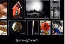 Synchroonkijken 2015 / Elke dag een opdracht en daar een foto v maken.... Van iedereen is een verzameling v elke dag, erg leuk om te zien. Dit zijn mijn persoonlijke foto's van de opdracht.
