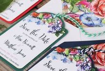 Botanical Wedding Stationery / We're loving the botanical trend and how it is spanning so many different genres, including weddings and interiors. We love the rustic wedding look and eco friendly wedding stationery. Take a look at our whole collection for ideas and wedding inspiration.
