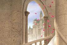 Märchenland / Illustrationen und Fotos, die einen in ein fernes Zauberreich entführen. Märchen, Geschichten, Sagen, Hexen, Kobolde, Feen, Elfen, Nixen, Meerjungfrauen, Magie, Zauber, Märchenbuch, Prinzessin, Drachen, Ritter