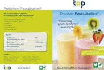 Pascalisation (HPP) / Pascalization, bridgmanization, or high pressure processing (HPP), is a method of preserving and sterilizing food, in which a product is processed under very high pressure, leading to the inactivation of certain microorganisms and enzymes in the food.  See also: http://nl.topwiki.nl/index.php/Pascalisatie_(HPP) and www.pascalprocessing.com and www.avure.com